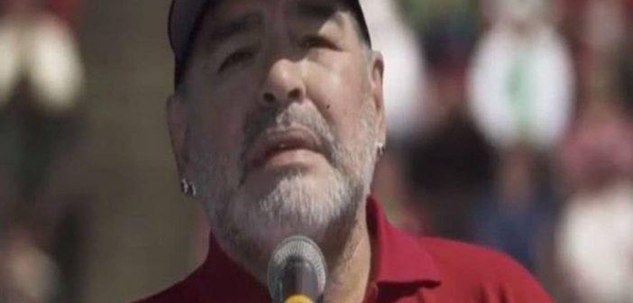 De las canchas a las cámaras: Esta es la serie en la que Maradona debutará como actor